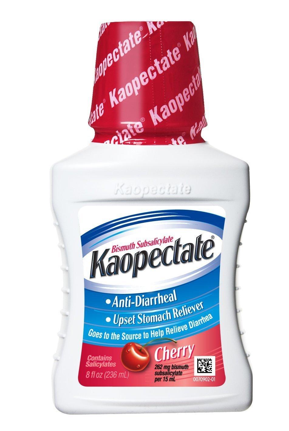 Kaopectate Liquid Cherry, 8 oz (Pack of 3)