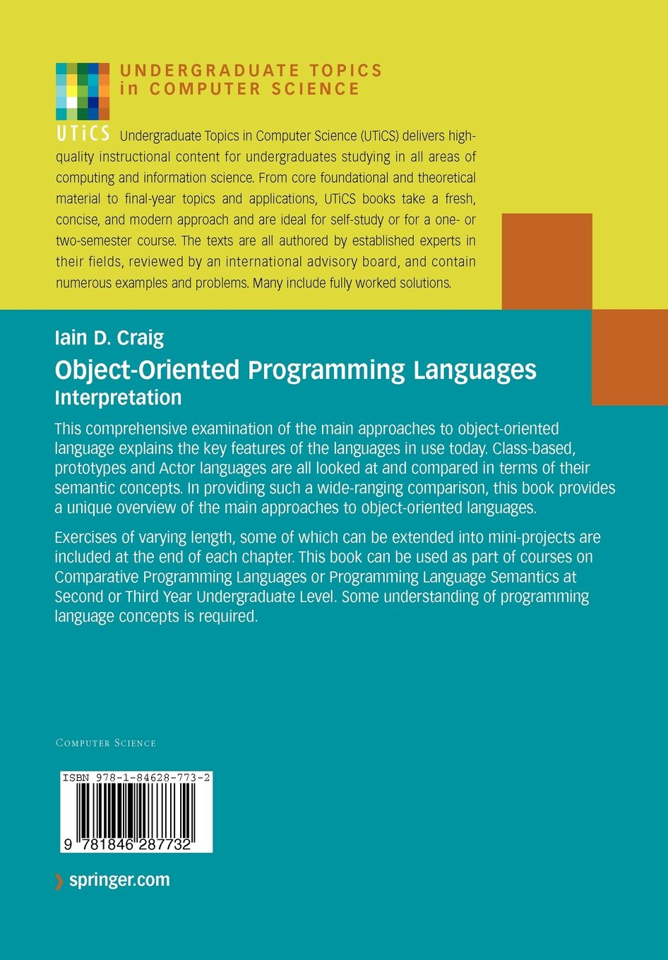 Buy Object-Oriented Programming Languages: Interpretation (Undergraduate  Topics in Computer Science) Book Online at Low Prices in India | Object- Oriented ...