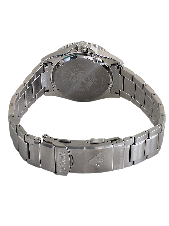 Acier Noir Quartz Montre Homme Citizen Cadran Bracelet Argent Bn0100 51e Analogique GMVqSUpz