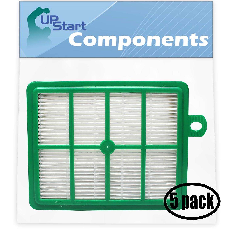 UpStart Battery 5-Pack Replacement Electrolux EL4335A UltraFlex Vacuum HEPA Filter - Compatible Electrolux EL012B HEPA Filter