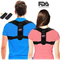 BOZOYYGH Adjustable Shoulder Posture Corrector for Men and Women