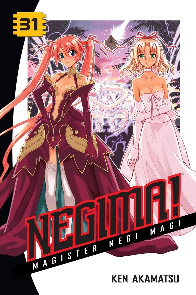 Amazon Com Negima 31 Magister Negi Magi 8601405820594 Akamatsu Ken Books