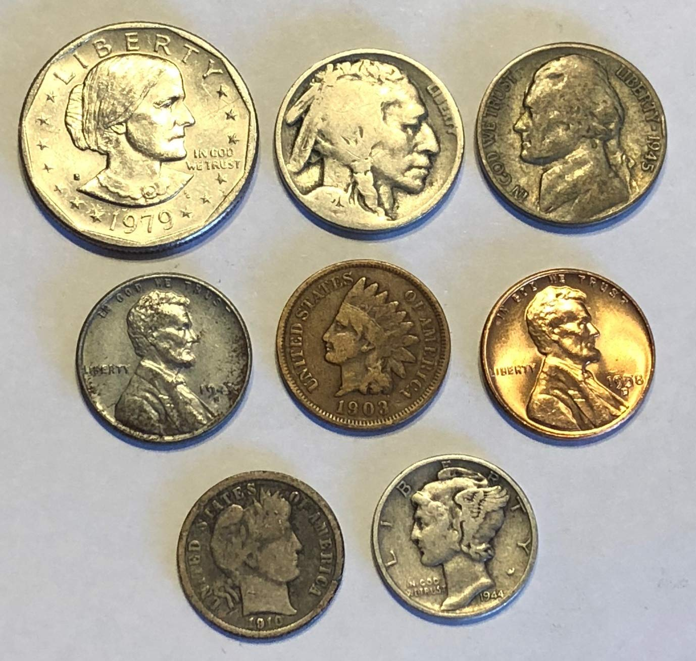 Mixed coins for sale