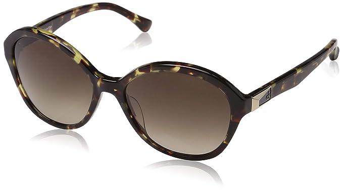 Calvin Klein Cat Eye, Gafas de sol para Mujer, Marrón ...