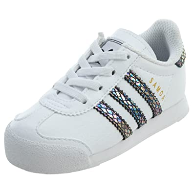 128d2b3e4eb0 adidas Samoa Snake Toddlers Shoes Footwear White Footwear White Core Black  bw1301 (4