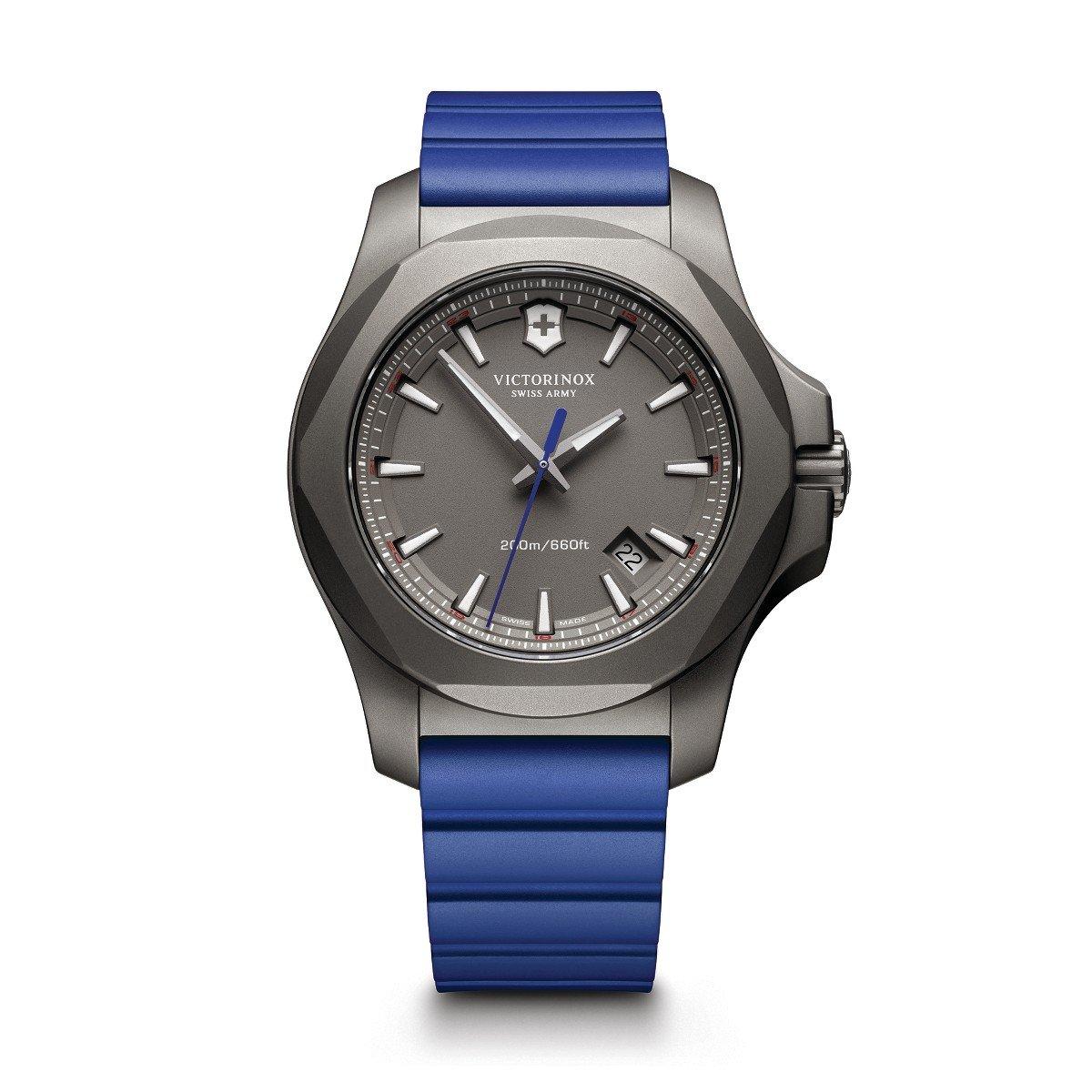 Victorinox Swiss Army i.n.o.x. Watch Blue I.N.O.X. Titanium B01LWZ6N9R Blue I.N.O.X. Titanium|メンズ I.N.O.X. (Men's I.N.O.X.) Blue I.N.O.X. Titanium