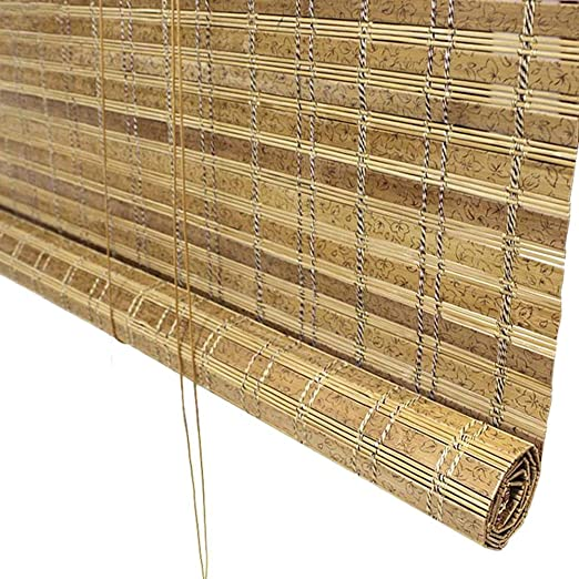 Persiana de bambú Persianas Enrollables Al Aire Libre para ...
