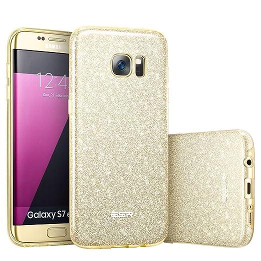 20 opinioni per Samsung Galaxy S7 Edge Bling Bling Custodia Brillantini/Glitters in Silicone,