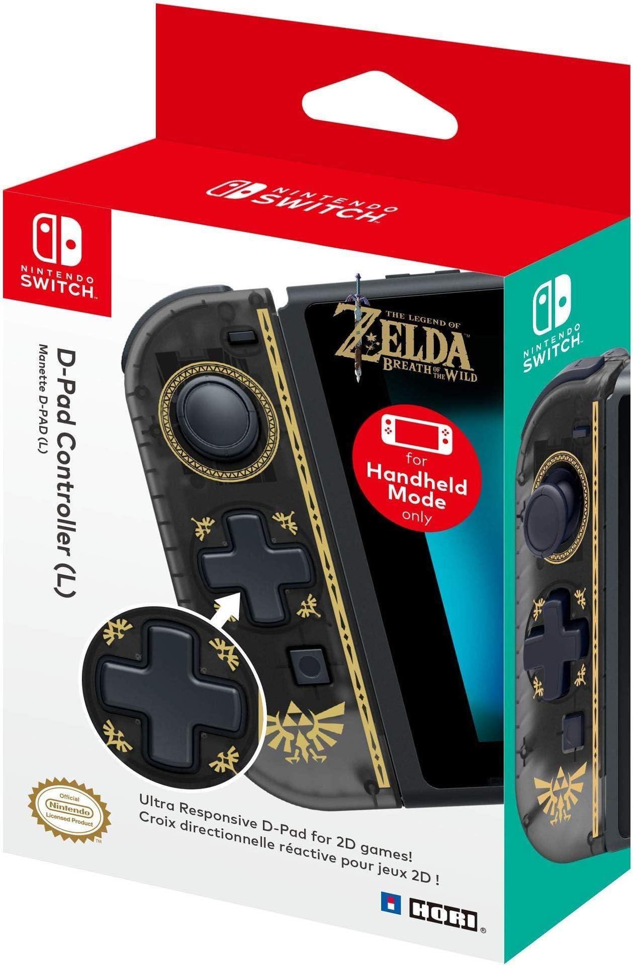 Amazon com: HORI D-Pad Controller (L) (Zelda) Officially