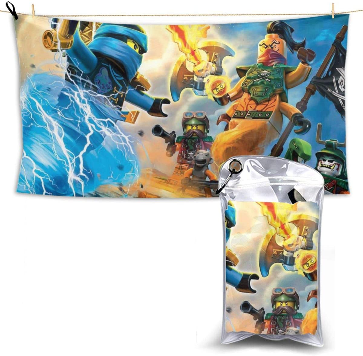 Amazon Com Qpoizzahi Ninjago Oversized Quick Drying Microfiber Beach Travel Towel 28 7 Inches X 51 Inches Lightweight Quick Drying Travel Towel Beach Swimming Swimming Pool Hiking Camping Home Kitchen Performing the inverse calculation of the relationship between units, we obtain that 1 foot is 0.23529412 times 51 inches. amazon com