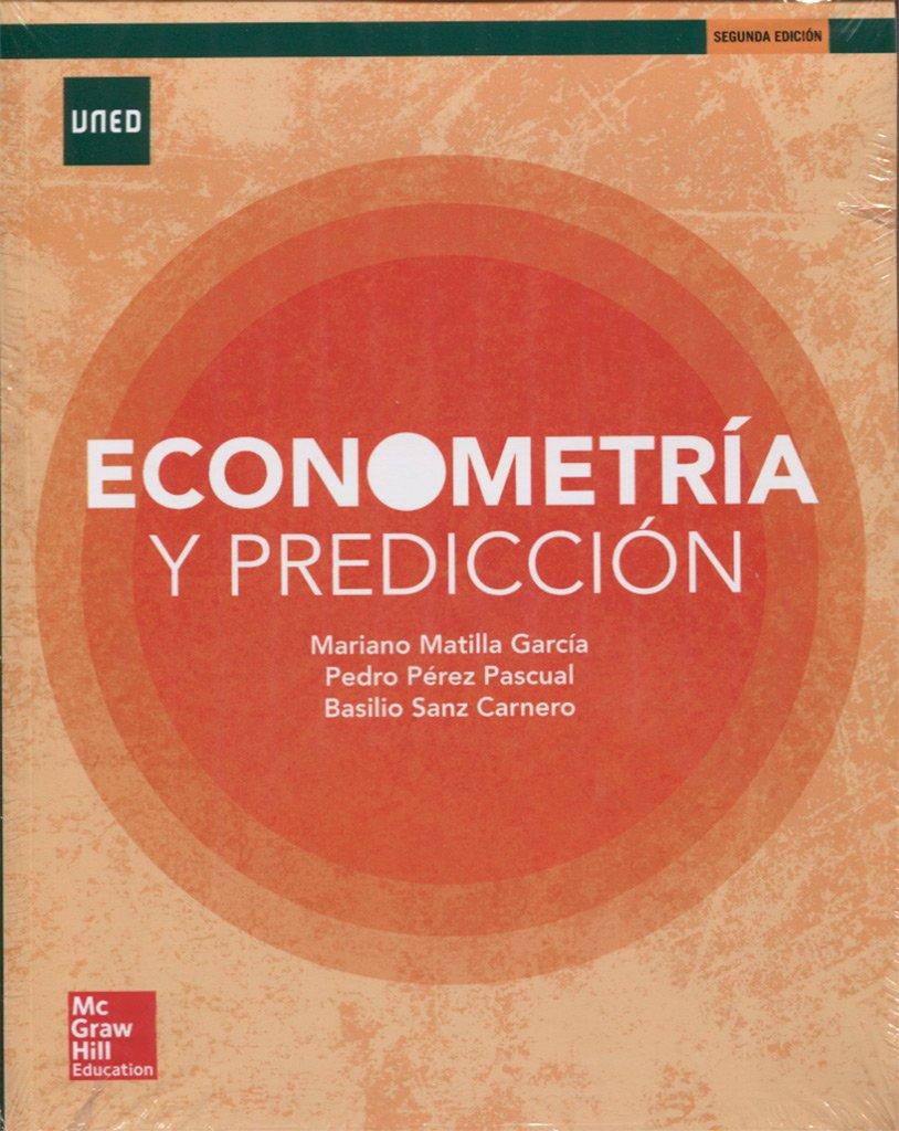 LA+CUTX ECONOMETRIA Y PREDICCION 2E. LIBRO ALUMNO+CUADERNO. Tapa blanda – 22 feb 2017 Mariano Matilla Pedro Pérez Basilio Sanz 8448612019