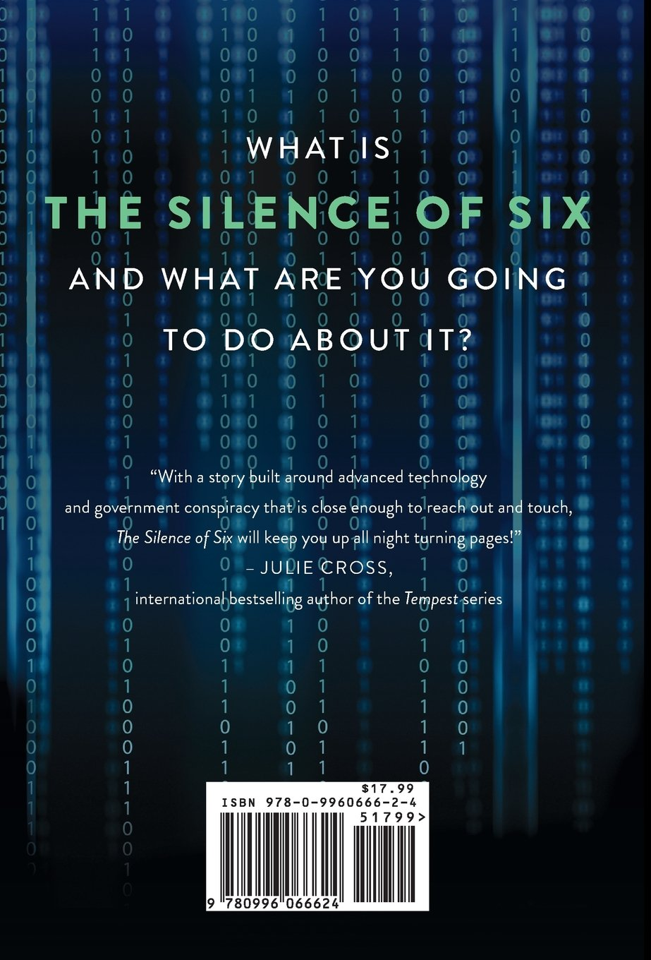Amazon: The Silence Of Six (an Sos Thriller) (2015996066624): Ec  Myers: Books