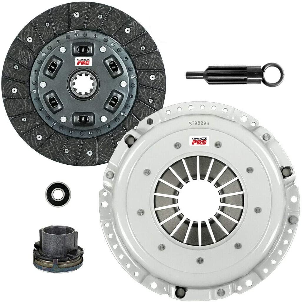 ClutchMaxPRO Performance Stage 2 Clutch Kit Compatible with 84-91 BMW 325 325 525 528 2.5L 2.7L M20B25 M20B27 E28 E30 E34