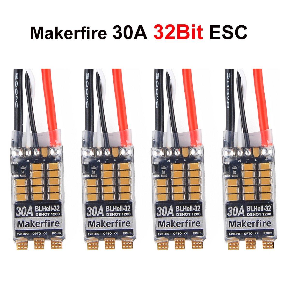 Maker Fire Esc Wiring Trusted Diagram Brushless Amazon Com Makerfire 4pcs Blheli 32 32bit 30a Bec