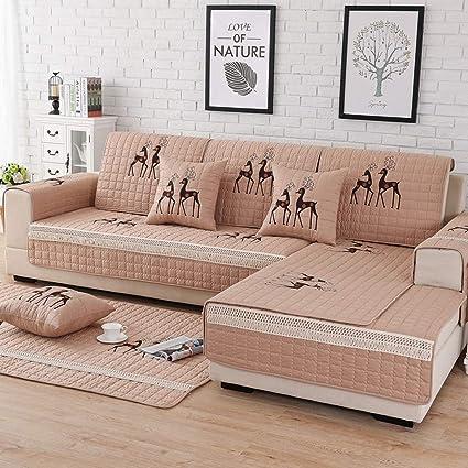 Fundas Sofas 3 Y 2 Plazas Cubre Sofa Chaise Longue Brazo ...