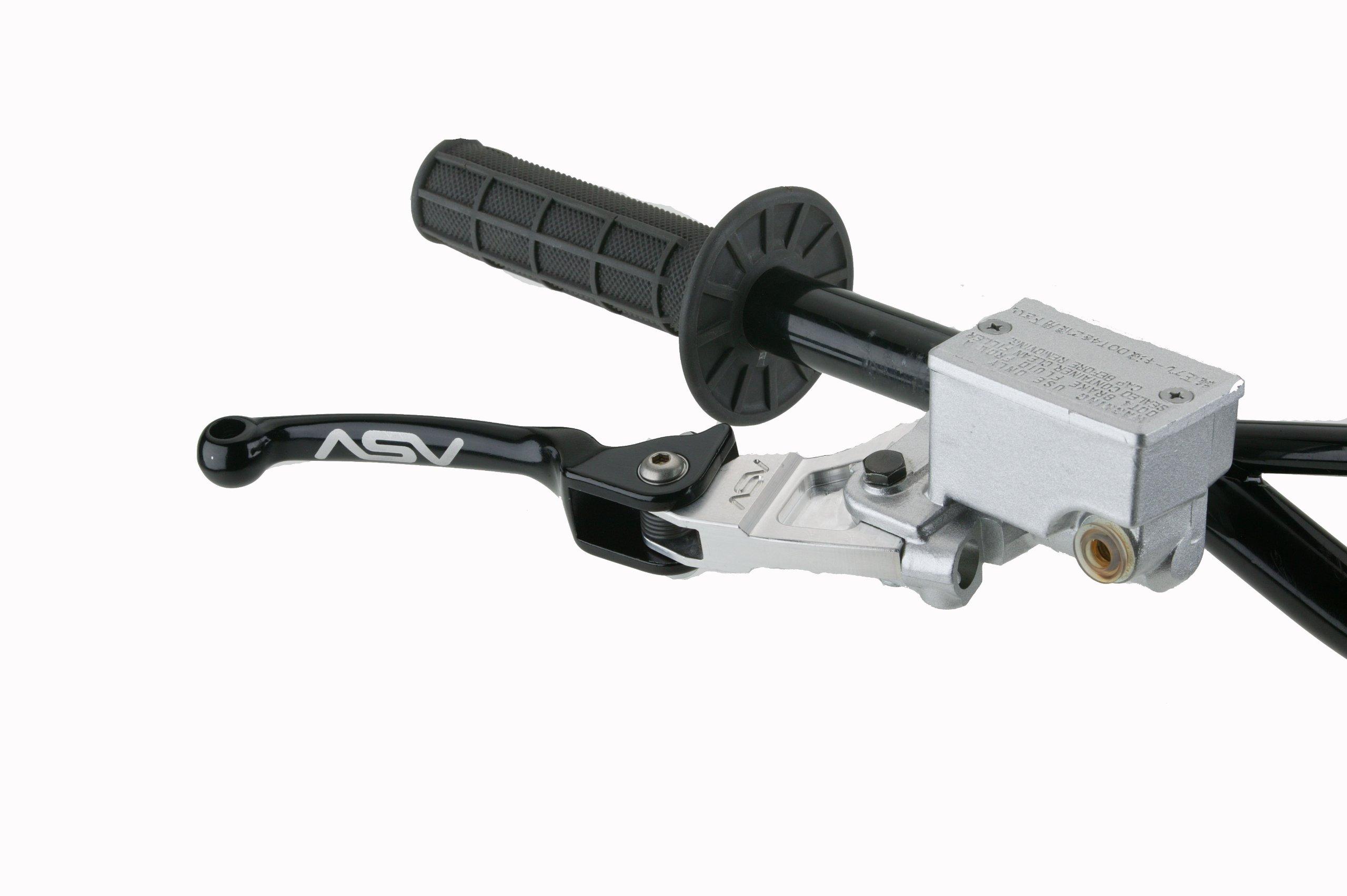 ASV Inventions BAF31-K F3 Black Quad Front Standard Brake Lever for Yamaha