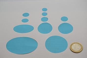 Daunenjacke First Aid Repair Patch Kit Hellblau Farbe Amazonde