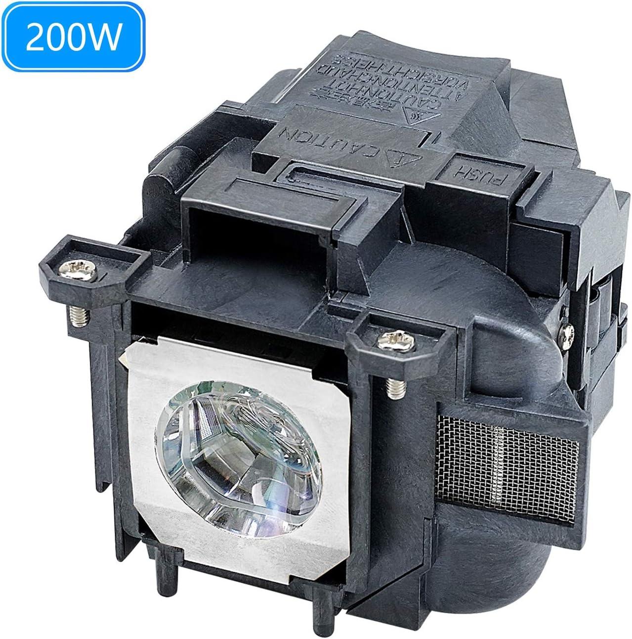 for EX7240 Bulb, ELPLP88 V13H010L88 Replacement Bulb Epson EX3240 EX9200 EX5240 Bulb Home Cinema PowerLite H682 EB-X36 EH-TW5210 EH-TW5300 EH-TW5350 EH-TW5350S EB-X350 EB-X31EB-X300 EB-X29 EB-X27