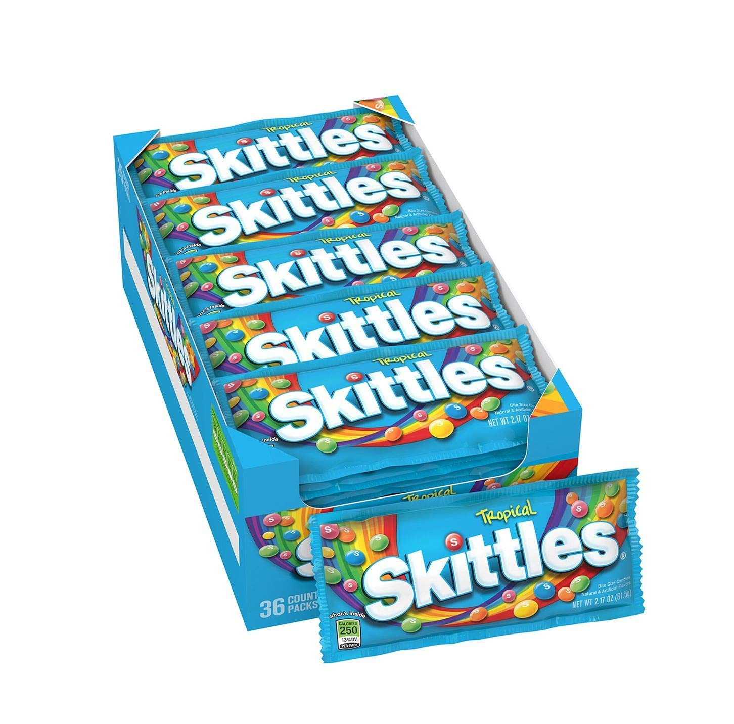 CDM product SCS Tropical Skittles® Candy - 2.17 oz. - 36 ct. big image