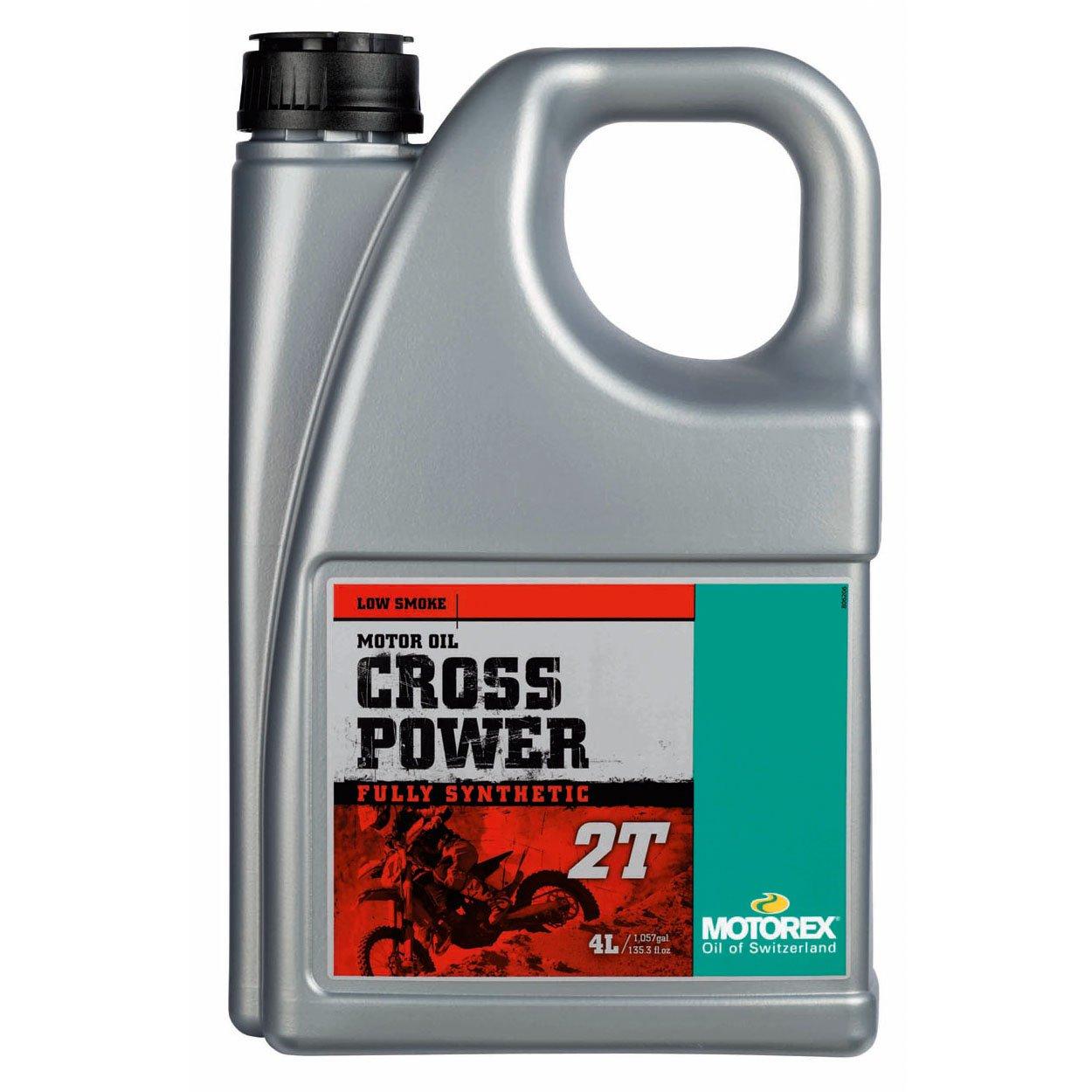 Motorex Cross Power 2T - 4 Liter 171-204-400 by Motorex 7611197013822