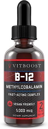 VitBoost Vegan Liquid B-12 Drops