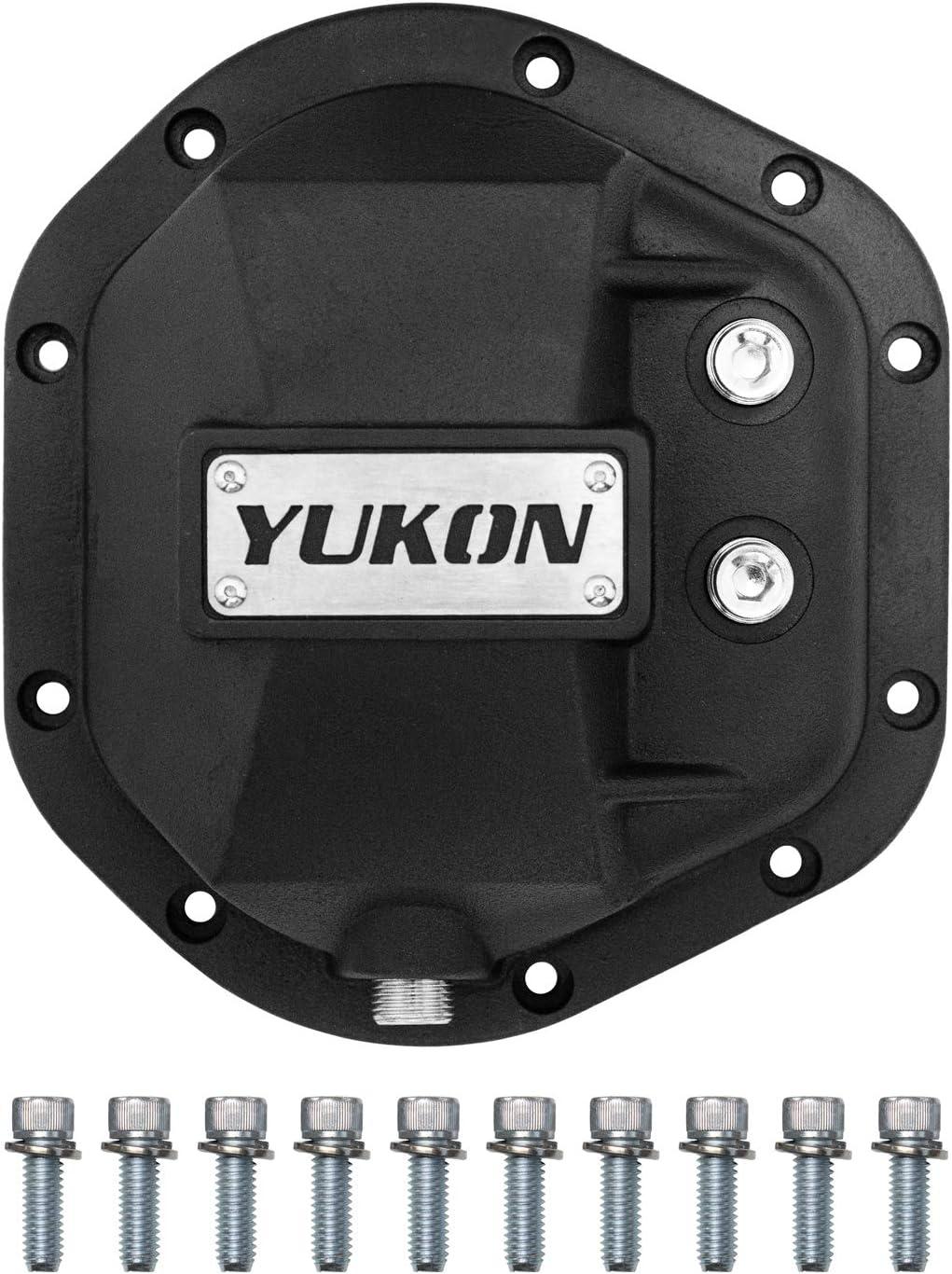 Yukon Gear & Axle YHCC-D44 Black Hardcore Nodular Iron Differential Cover