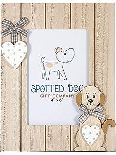 SPOTTED DOG GIFT COMPANY Marco de Fotos de Madera Horizontal ...