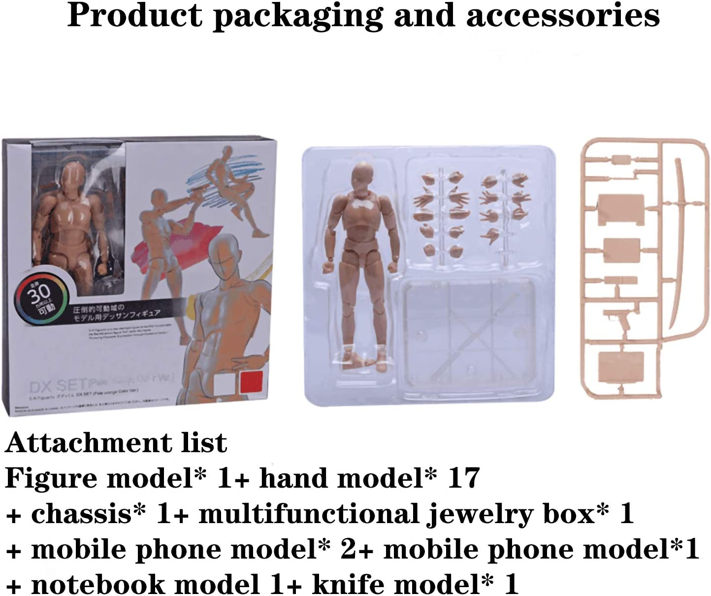 Female Avicir Manikins Movable Paint Mannequin Mandatory Doll for Drawing Action Figure Model Skin Color