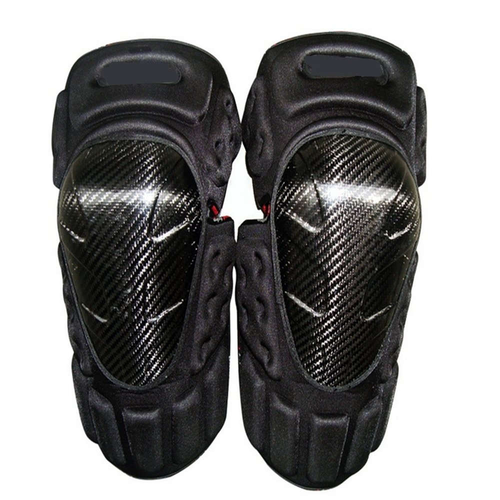 TLMYDD Anti-Fall Knee Pads Leg Protectors Professional Motorcycle Racing Off-Road Vehicle Safety Kneepad by TLMYDD (Image #2)