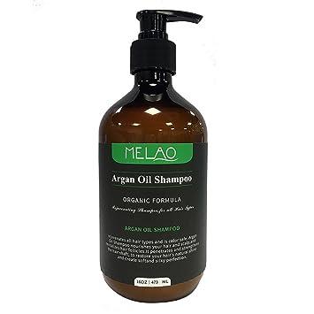 25bf9db16a Argan Öl Shampoo Haarausfall Vorbeugen, fördert Volumen und Gesunden Glanz,  für alle Haartypen 473ml