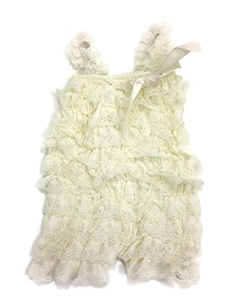 7005a9926e07 Image Unavailable. Image not available for. Color  Lace Romper for Babies  ...