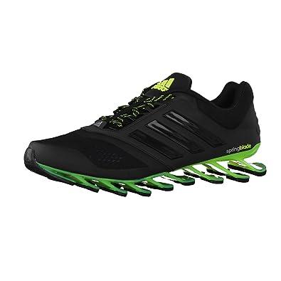brand new eaa29 dffed Zapatillas para correr - Adidas Springblade Drive 2 - Para hombre, color  Negro, talla 52 2 3 EU  Amazon.es  Zapatos y complementos