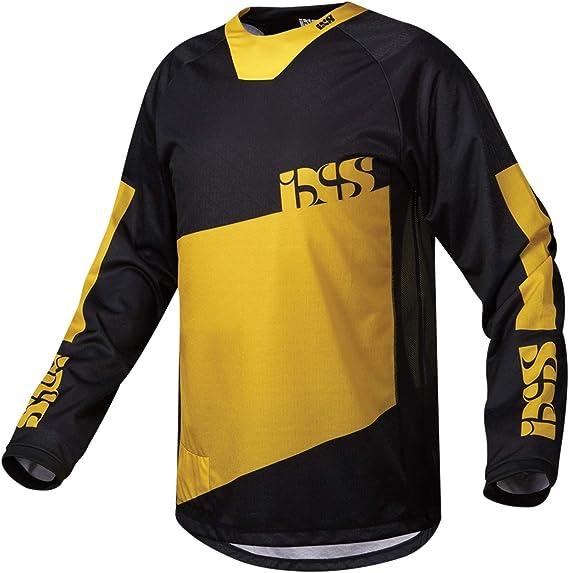 IXS Pivot 6.1 MTB DH Jersey gelb blau schwarz
