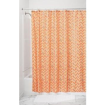 InterDesign Nora rideau de douche textile, 183,0 cm x 183,0 cm ...