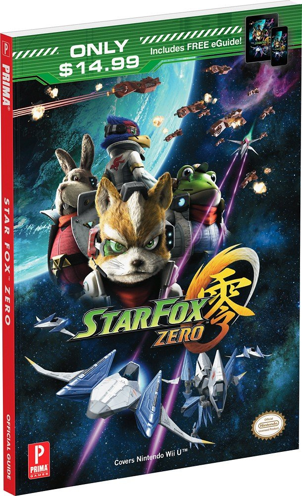 amazon com prima games star fox zero official game guide video games rh amazon com Prima Games BF4 Bow Prima Games Skyrim