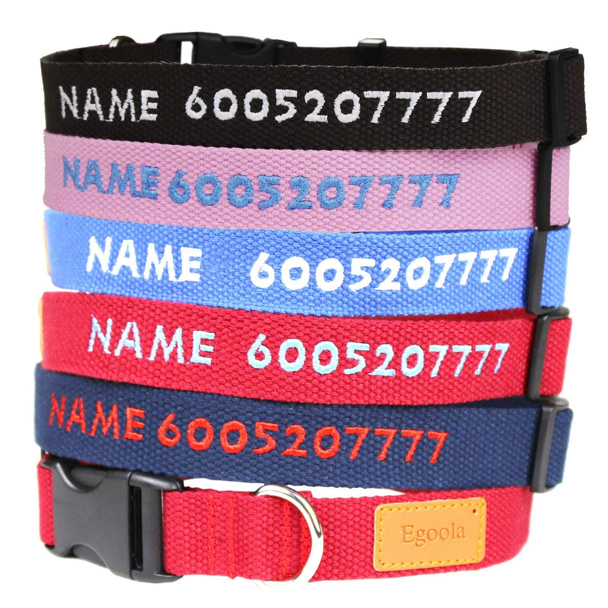 Quality made personalized collar