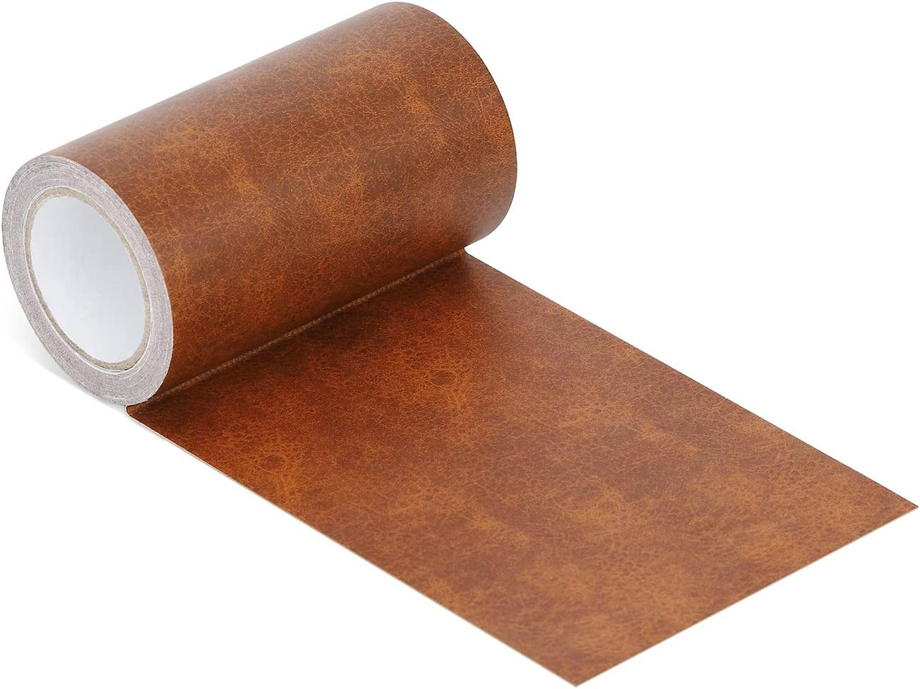 Azobur Leather Repair Tape Patch Leather Adhesive for Sofas, Car Seats, Handbags, Jackets,First Aid Patch (Whiskey Leather)