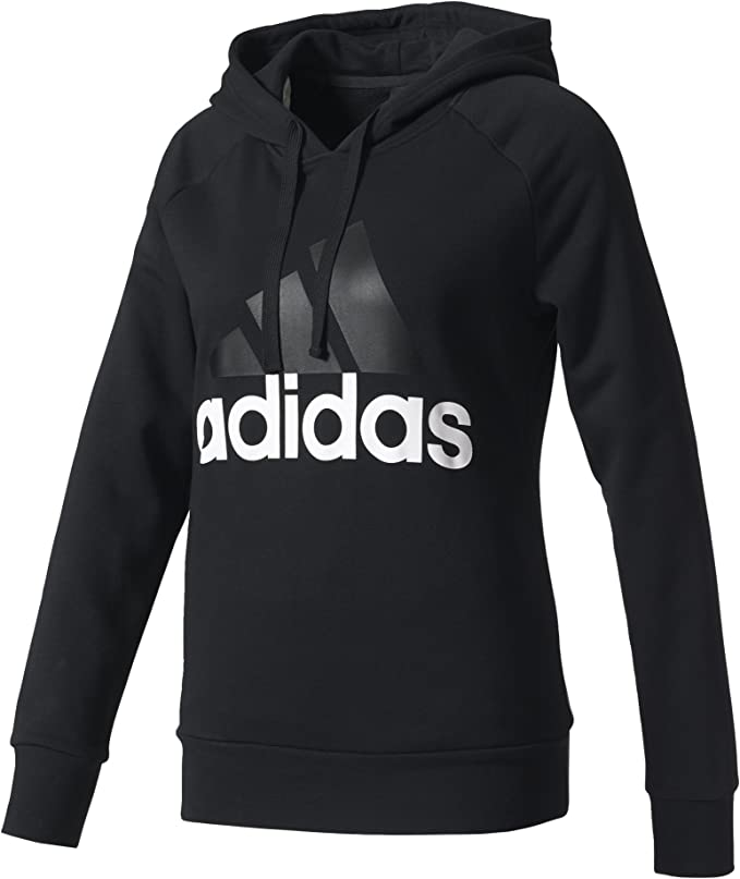 adidas Damen Essentials Linear Kapuzenjacke