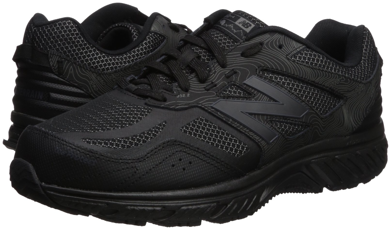 New Balance Men's 510v4 Cushioning Trail Running Shoe, Black, 7 D US by New Balance (Image #6)