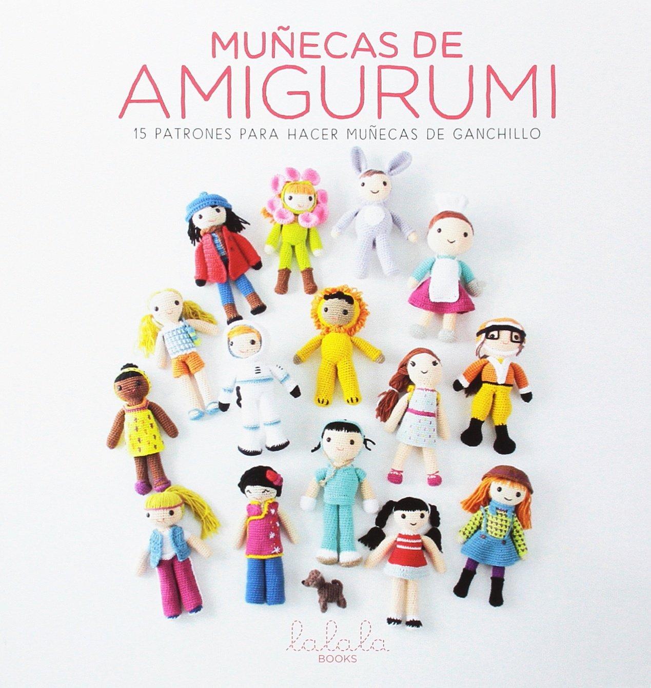 Muñecas de amigurumi. 15 Patrones para hacer muñecas de ganchillo ...