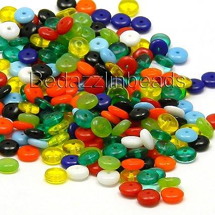 Czech Glass Beads 6mm Rondelle
