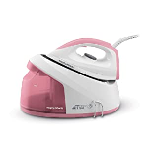Morphy Richards Jet Steam Plus 333101 Compact Steam Generator Pink