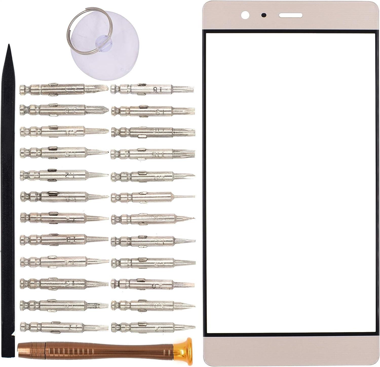 Vidrio de frente para Huawei P9 Plus VIE-L09 VIE-L29(Dorado)