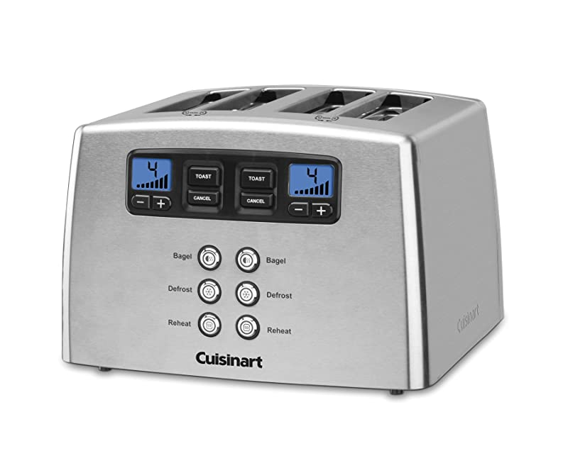 Cuisinart Touch to Toast Leverless 4-Slice Toaster CPT-440 Review