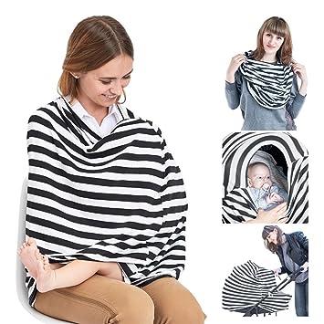 amazon com nursing cover breastfeeding scarf baby car seat canopy