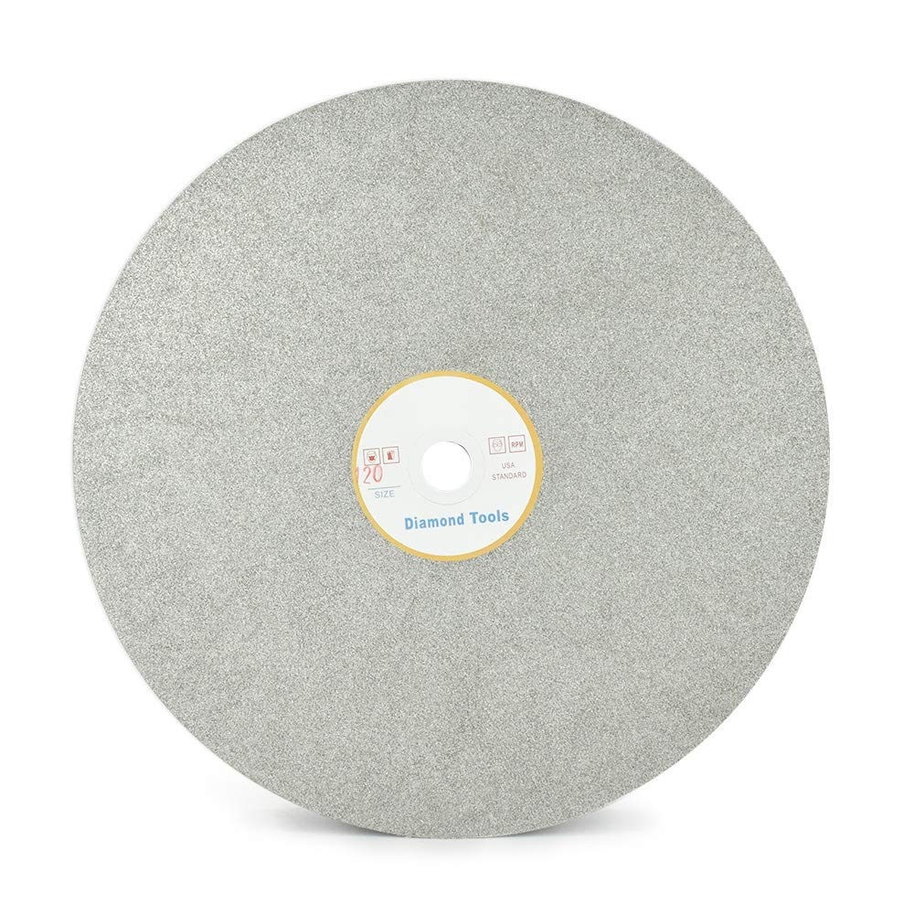 Rueda plana de diamante SCOTTCHEN para lijado (20 cm, G 120)