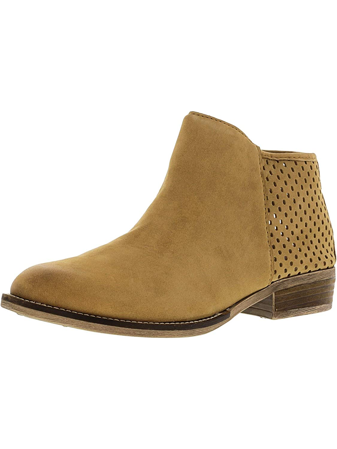 Steve Madden Womens Beverly Leather Ankle-High Boot