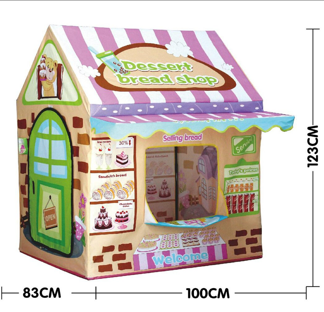 Amazon.com Kids Play House TentLwang Playhouse Bread House for Girls and Boys Play Tent Great Children Gift Toys u0026 Games  sc 1 st  Amazon.com : girl play tents - memphite.com