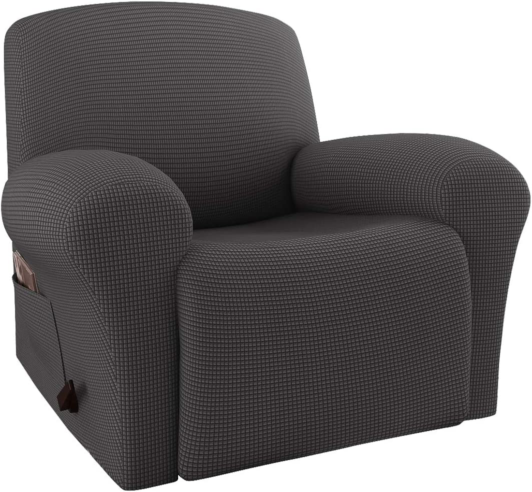 RHF Reversible Oversized Recliner Cover /& Oversized Recliner Covers,Slipcovers for Recliner XRecliner:Oversized: Clover//Beige Oversized Chair Covers,Pet Cover for Recliner,Machine Washable
