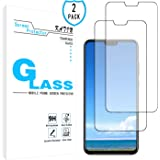 KATIN Huawei Honor 8X Screen Protector - [2-Pack] Tempered Glass for Huawei Honor 8X Screen Protector Bubble Free, Easy to Install with Lifetime Replacement Warranty